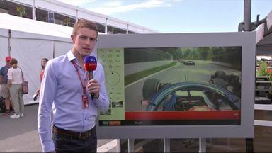 Hartley-Stroll crash analysed