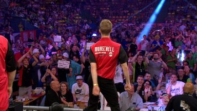Canada floss at the darts