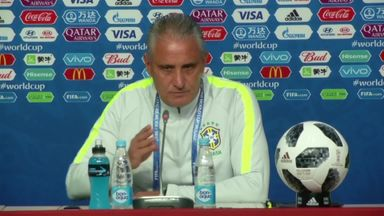 Tite: We are calm about Neymar