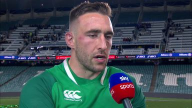 Conan praises Irish bench
