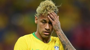 Neymar missing as Brazil train