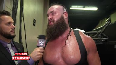 Strowman calls out Lesnar