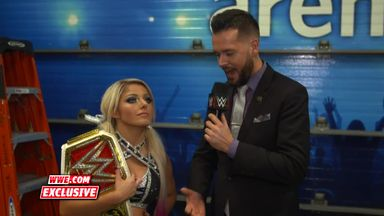 Bliss wins Raw Women's Championship