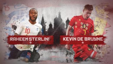 Russia 2018: Sterling v De Bruyne
