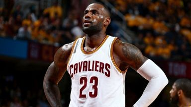 LeBron's Cleveland future unclear