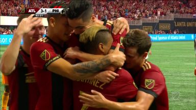 Atlanta Utd 3-1 Philadelphia Union
