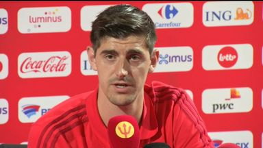 Courtois: Speculation doesn't bother me