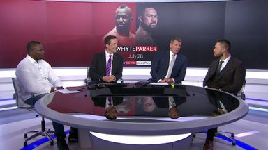 Whyte and Parker meet at SSN