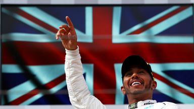 Hamilton reflects on French GP win