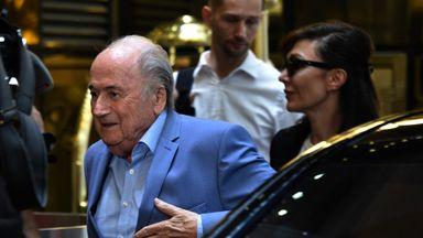 Blatter: I feel a bit abandoned