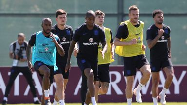 Delph: England training is fiery