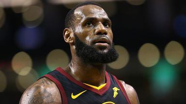 LeBron James scores 51 points but Cavaliers beaten by  Warriors in controversial NBA Finals opener