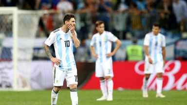 Argentina on the brink of WC exit