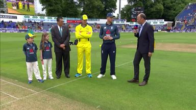Eng v Aus 2nd ODI: The Toss