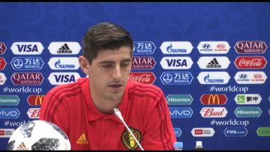 Courtois: Belgium are outsiders