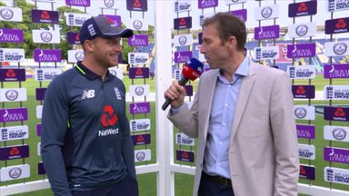 Buttler discusses pleasing victory