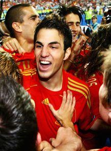 Fabregas Cesc Spain Euro 2008