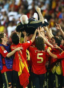 Luis Aragones Spain Euro 2008 final