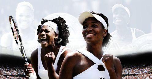 Serena and Venus meet on Saturday.