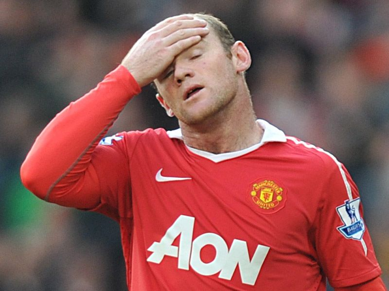 Rooney MUFC vs WBAFC