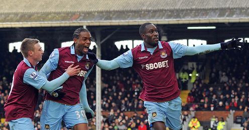 West Ham Celebrate vs Fulham