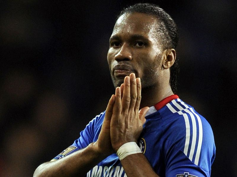 Drogba misses penalty THFC vs CFC