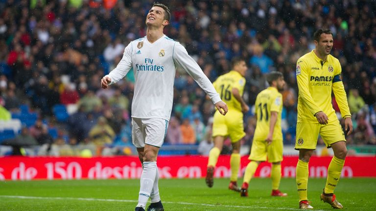 Image result for Real Madrid 0 - 1 Villarreal